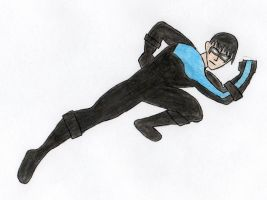 Nightwing by Ftanng