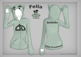 Fella Hoodie Design by Vala-Creations