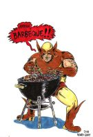 Wolverine Barbecue by oh-the-humanatee