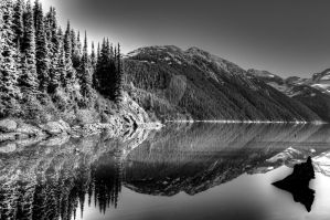 Reflection Black and White by Shzphoto