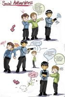 Star Trek: Social Awkwardness by EternalGeek