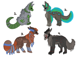 Point Auction Adoptables Closed by ForestGlade
