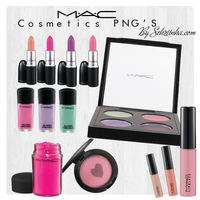 MAC Make-up PNGS by sehziinha