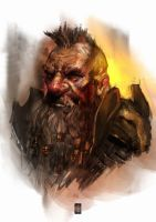 Dwarf portrait by muratgul