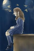 halo of canaries - Hermione by bluestraggler