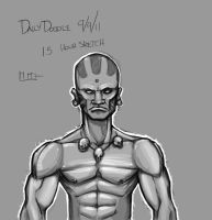 Dhalsim Doodle by Paterack