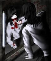 Jeff the killer - Now I'm beautiful by SidVanity