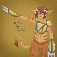 Dustin the demon by my-darkness