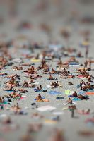 Ants on a Beach by HowNowVihao