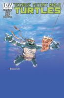 TMNT 18 Rock Poster variant cover by mytymark