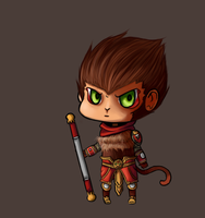 Chibi Wukong by NerdyNation