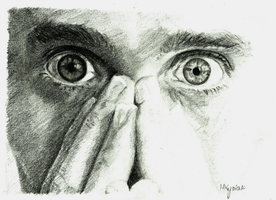 Jared Leto's eyes by mmkrys