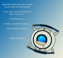 Wheatley Valentine by BeckaPOW