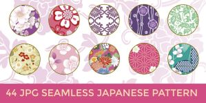 44 JPG Seamless Japanese Pattern by o-yome