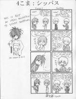 4koma- Shippers by ItaLuv