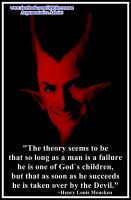 The Devils Man. by AAtheist