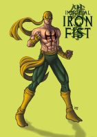 iron fist comiss by funeralwind