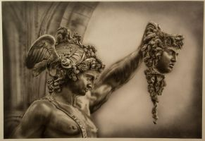 Statue of Perseus and Medusa by PatrickKneefel