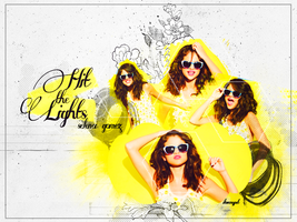 Selena Hit the lights by i-love-my-pet