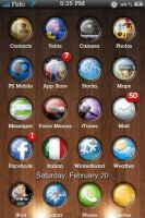 Release- Eternal iPhone Theme by alireda