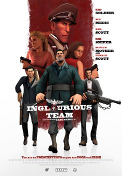 Inglourious Team by MrRiar