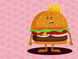 Burger Queen by KellerAC