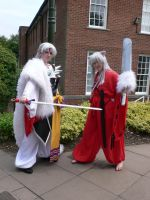 Demon half-brothers Amecon '12 by KaniKaniza