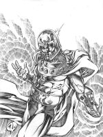 MAGNETO Sketch by RudyVasquez