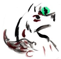 Amaterasu... now in PAINTS by Kyra-Wolf