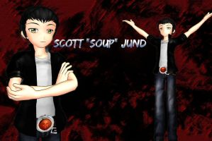 [MMD]  Scott Jund by moonfan4ever