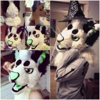 Paperclaws Fursuit Head by ParadeDemon