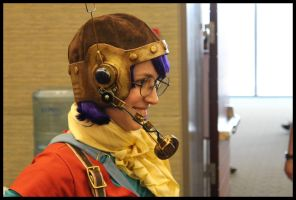 Lucca Cosplay: Helmet by Mink-the-Satyr