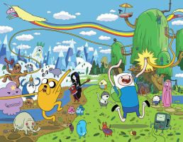 Adventure Time Comic by KassandraHeller