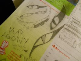 Planner doodle 2 Eyes by Snow-Feather1203