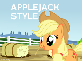 Wear it Applejack Style! by Noah-x3