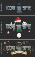 UNiTY Logoes (default and for holidays) by ShortyDK85