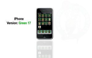 IPhone: Version: Green 17 by mat-cat