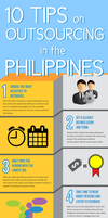 Top 10 Tips on Outsourcing infographic by hellkite527