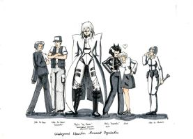 Character Designs - Liberation by Firia
