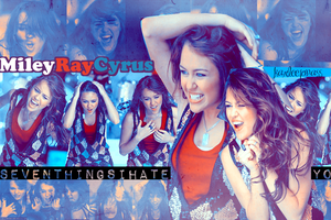 miley cyrus wallpaper by karleejonass