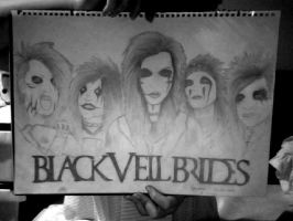 Black Veil Brides (almost complete) by c-Ana-c