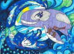 Fantastic Whale by lolacolabunny