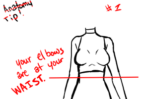 Anatomy tips #1- Elbows by NekoCapsule