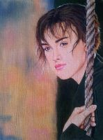 Miss Elizabeth - oil painting by Giselle-M