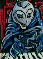 Phantom Of The Paradise Sketch Card by ragzdandelion