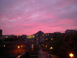 Sunset Over Berlin 54 by ErinM2000