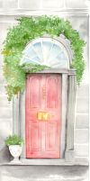 Dublin Door by GisaPizzatto