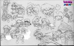 Detective Waluigi Doddles 1 by mrm64