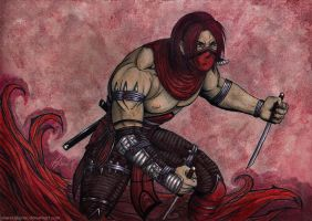 Skarlet by mareCaligine
