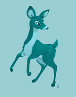 Teal Deer by Arabidopsis